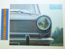 SIMCA 1300 & 1500 1964 8- page brochure (GB)